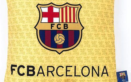 Jerry Fabrics polštářek FC Barcelona 02, 40 x 40 cm