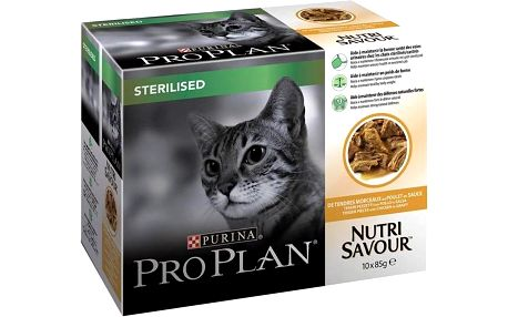 Purina Pro Plan CAT STERILISED Kuře 10 x 85g