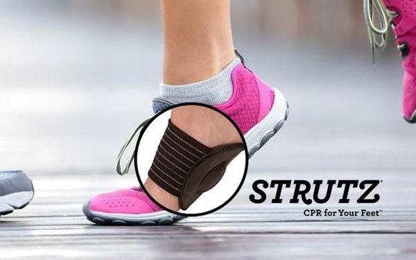 Speciální pásky s polštářky Strutz pro úlevu nohou