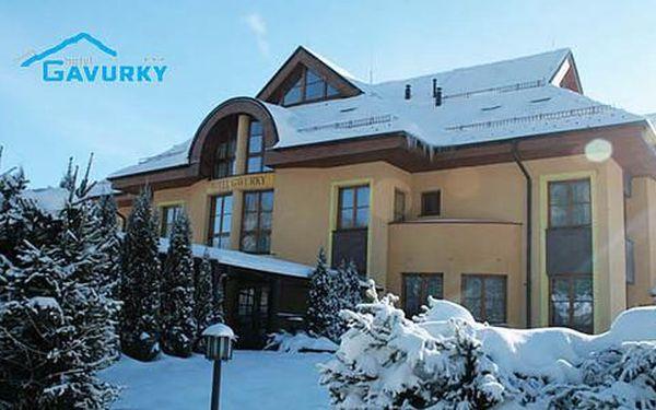 Pobyt v hotelu Gavurky *** se skipasy