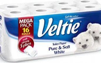 Veltie Classic White 2vrstvý 16 ks