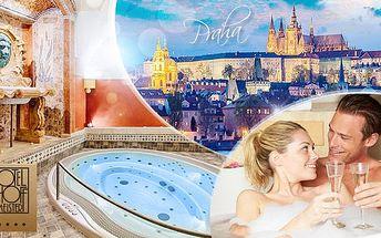 120min. lázeňský balíček pro 2 osoby! Parní a Římská lázeň (vířivka) + pohoštění v 5* Hotelu Hoffmeister na Malé Straně!