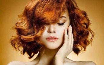 Barvení vlasů včetně proteinové masky