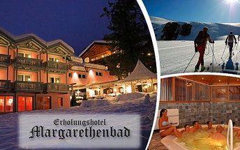 Lyžování v Rakousku ve 4* hotelu pro 2 osoby na 4, 6 nebo 8 dní! Perfektní pobyt s vynikající polopenzí u 5ti lyžařských areálů, se slevou na skipass, neomezeným vstupem do wellness centra, nočním sáňkováním, curlingem a mnoho dalšího! Užijte si sníh zimn