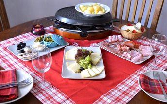 Raclettové hody pro dva v Bistro de France