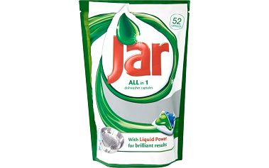 Jar All in 1 Kapsle do automatické myčky nádobí 52 ks 845 g