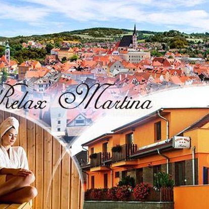 České Budějovice, wellness pobyt na 3 či 4 dny pro 2 osoby s polopenzí, bazénem, masáží, saunou či vířivkou a sektem!