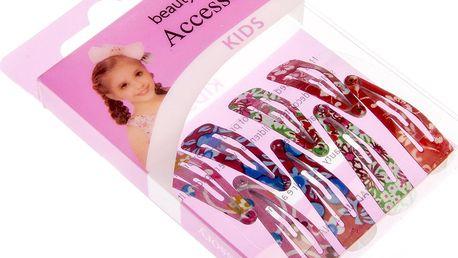 Fashion Icon Dětské dívčí sponky do vlasů květiny - malé