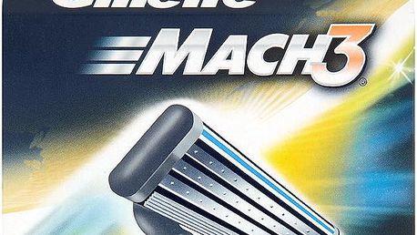 Gillette Mach3 Náhradní hlavice do holícího strojku 8 ks