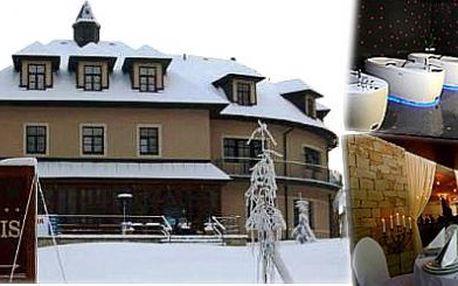 5 denní lyžařský pobyt SNOWHILL s PLNOU PENZÍ v Mariánských Lázních pro dva a Vaše děti