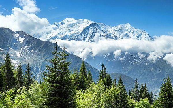 3denní autobusový zájezd do Ženevy a na Mont Blanc pro 1 osobu