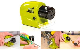 Elektrický brousek Swifty Sharp - Nejen na nože a nůžky.