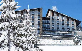 3denní pobyt pro 2 osoby s polopenzí a saunou v hotelu Zadov na Šumavě