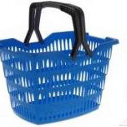 Nákupní košík plastový, modrá ProGarden KO-Y54220230modr