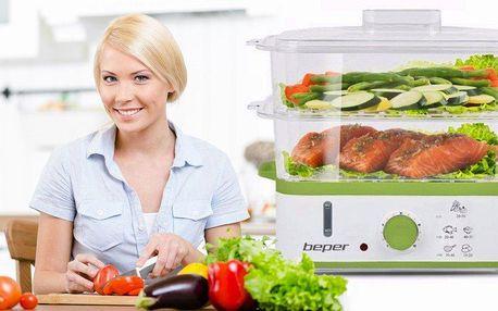 Parní hrnce Beper pro zdravější vaření