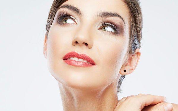 Permanentní make-up vybrané partie