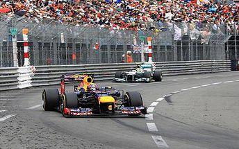 Velká cena F1 na světoznámém okruhu v Monaku
