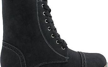NORN Vysoké kotníkové boty B7871B Velikost: 40