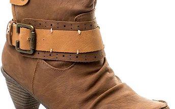 Kotníkové boty 8612-12Y.BR Velikost: 39