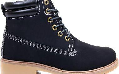 Podzimní boty - farmářky E17B 37