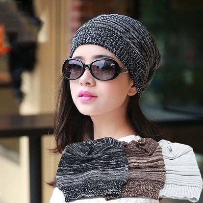 Moderní unisex čepice - černá barva - dodání do 2 dnů