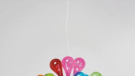 KARE DESIGN Závěsné svítidlo Drops Rainbow - 12 světel Doprava zdarma