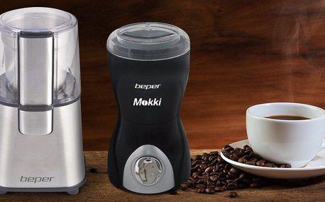 Elektrický mlýnek na kávu Beper