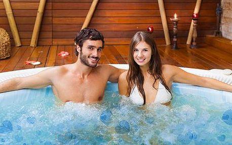 Luxusní Valentýn ve vířivce včetně klasické masáže celého těla pro pár