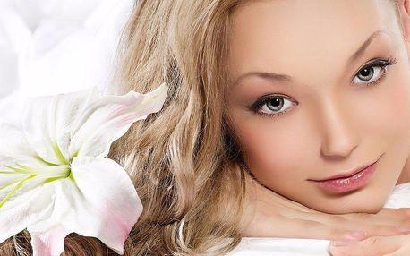 Odstranění pigmentových skvrn na obličeji nebo dekoltu