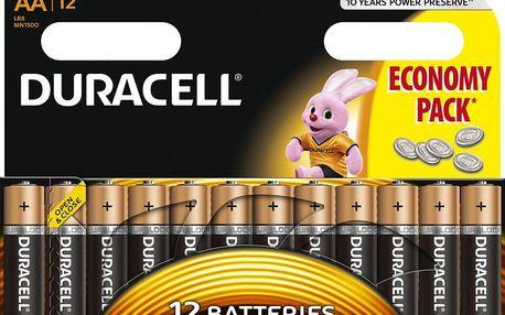 Duracell Basic, AA, 12ks