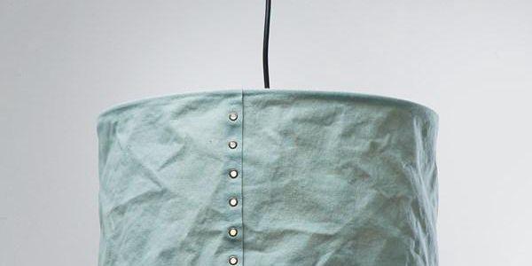 KARE DESIGN Závěsné svítidlo Rivet - světle modré