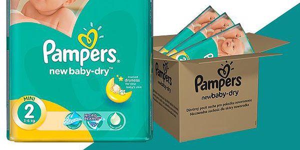 Pampers Active New Baby 2 Mini Plenky Velikost 2 (Mini) 228ks
