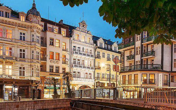 2 až 4 dny pro 2 osoby se snídaněmi v Karlových Varech v Garni hotelu Kučera***