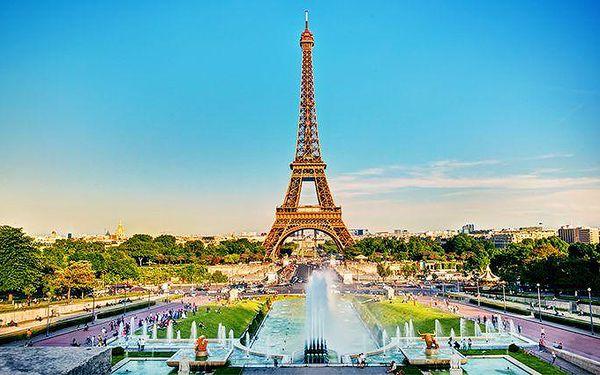 3denní zájezd pro 1 osobu do Paříže s prohlídkou města a plavbou po Seině