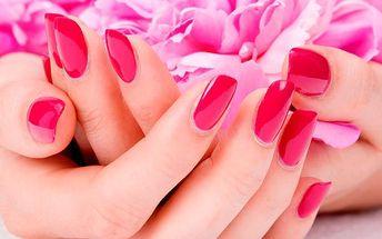 Balíčky pro krásné ruce a nehty v salonu Šárky Litwanové. Zábal, shellack, p-shine manikúra, masáž!