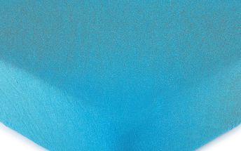 4Home jersey prostěradlo tmavě modrá, 90 x 200 cm