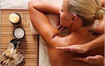 Masáž zad a krční páteře nebo reflexní terapie plosek. Dopřejte si rychlý relax na 30 minut.