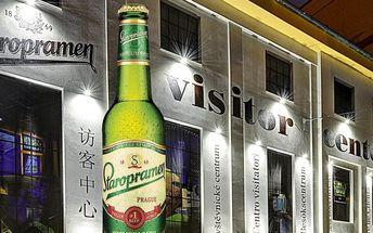 Interaktivní prohlídka v pivovaru Staropramen