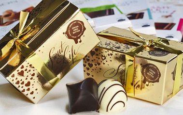 Belgické pralinky, čokoláda a mořské plody