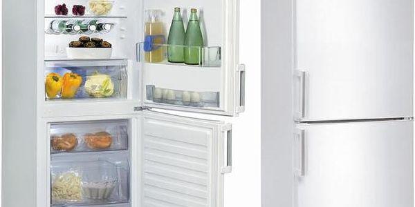 Kombinovaná chladnička Whirlpool WBE 3116 W, bílá