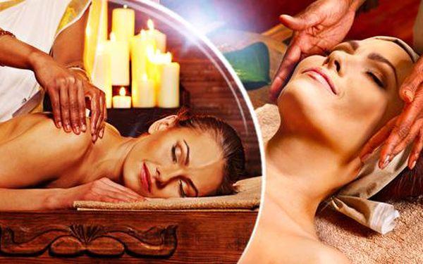 130min. Indická celotělová masáž Abhyanga v Ostravě nebo Havířově! Zdravotní hluboce relaxační bylinná olejová masáž.