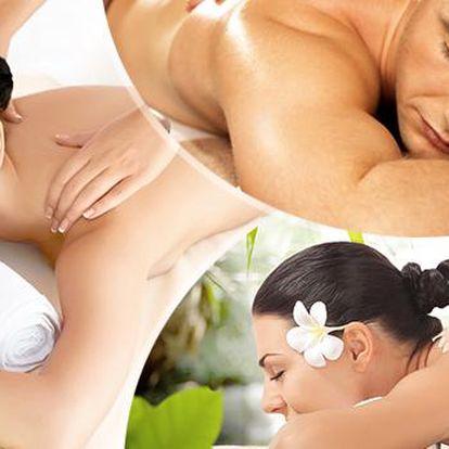 60min. masáž dle výběru! Masáž Lomi Lomi, tonizující, spojovací, reflexní, klasická, Amma a Jóga Nidra!