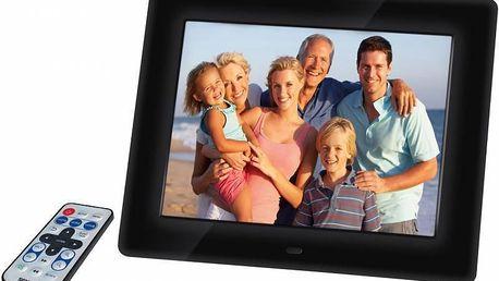 Digitální fotorámeček Sencor SDF 871, černý