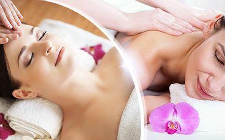 20min. masáž obličeje a dekoltu nebo 40min. regenerační masáž těla pro dokonalý odpočinek ve Studiu Vitality!