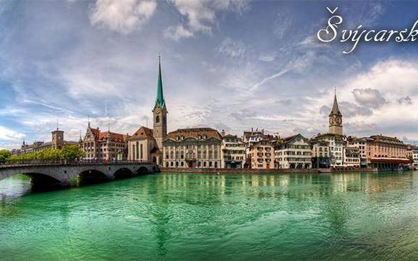 4denní poznávací zájezd do Švýcarska pro 1 osobu
