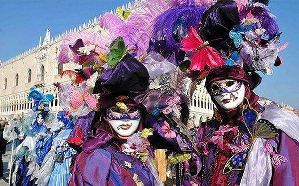 Zájezd pro 1 na karneval v Benátkách s možností ubytování v hotelu