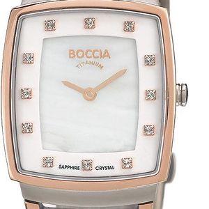 Boccia Titanium 3241-03 + pojištění hodinek, doprava ZDARMA, záruka 3 roky