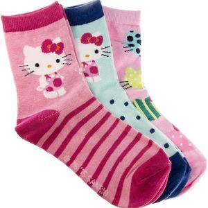 Dětské ponožky Hello Kitty 3 ks