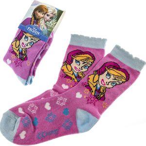 Dětské ponožky Anna Frozen Ledové království růžové