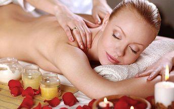 Valentýnská masáž dle vlastního výběru